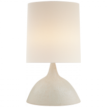 Visual Comfort ARN 3621MWT-L - Fanette Large Table Lamp in Marion White with Li