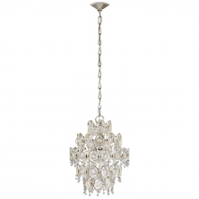 Visual Comfort ARN 5148BSL-CG - Emile Chandelier in Burnished Silver Leaf with C