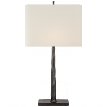 Visual Comfort BBL 3035BZ-L - Lyric Branch Table Lamp in Bronze with Linen Sha