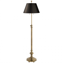 Visual Comfort CHA 9124AB-B - Overseas Adjustable Club Floor Lamp in Antique-B