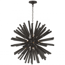 Visual Comfort CHC 3112AI - Lawrence Medium Sputnik Chandelier in Aged Iron