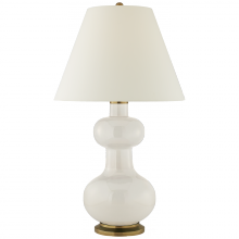 Visual Comfort CS 3607IVO-PL - Chambers Large Table Lamp in Ivory with Natural