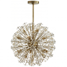 Visual Comfort KS 5005SB-CG - Dickinson Medium Chandelier in Soft Brass with C