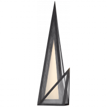 Visual Comfort KW 2652BZ-CLG - Ori Sconce in Bronze with Clear Lined Glass
