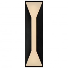 Visual Comfort KW 2721BZ-FG - Stretto Medium Sconce in Bronze with Frosted Gla