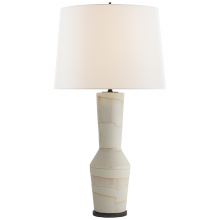 Visual Comfort KW 3024PWI-L - Alta Table Lamp in Porous White and Ivory with L