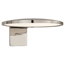 "Visual Comfort PB 2000PN - Dot 13"""" Wall Light in Polished Nickel"