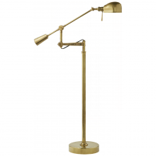 Visual Comfort RL14028BN - RL '67 Boom Arm Floor Lamp in Natural Brass
