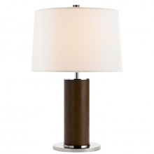 Visual Comfort RL14042PNCH-L - Beckford Table Lamp in Chocolate with Linen Shad