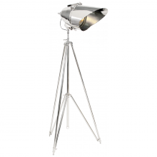 Visual Comfort RL16018PN - Cutter Tripod Lamp in Polished Nickel