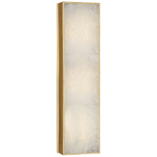 Visual Comfort RL 2969NB/Q - Ellis Medium Linear Sconce in Natural Brass and