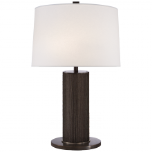 Visual Comfort RL 3467BZ-L - Beckford Table Lamp in Bronze with Linen Shade