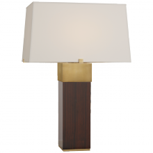 Visual Comfort RL 3592MCE/NB-P - Hardy Table Lamp in Macassar Ebony and Natural B