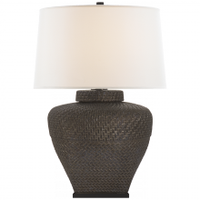 Visual Comfort RL 3622CBZ-L - Isla Small Table Lamp in Crystal Bronze Ceramic