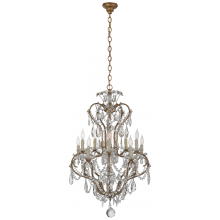 Visual Comfort RL 5280GI-CG - Alessandra Small Chandelier in Gilded Iron with