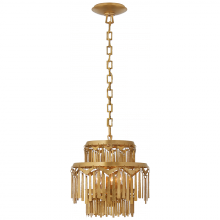 Visual Comfort RL 5632NB - Natalie Small Tiered Chandelier in Natural Brass