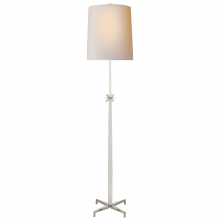Visual Comfort S 1320PN-NP - Etoile Large Floor Lamp in Polished Nickel with