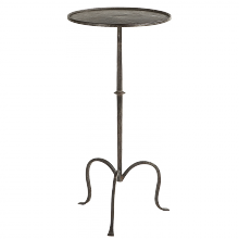 Visual Comfort SF 210AI - Hand-Forged Martini Table in Aged Iron