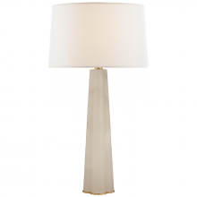 Visual Comfort SK 3906ALB-L - Adeline Large Quatrefoil Table Lamp in Alabaster
